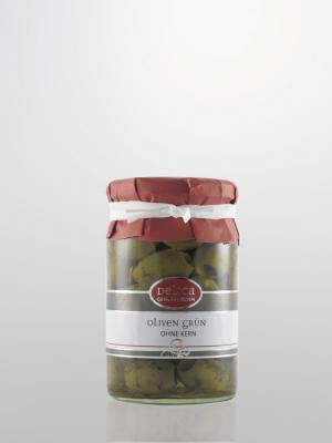 Oliven grün ohne Kerne
